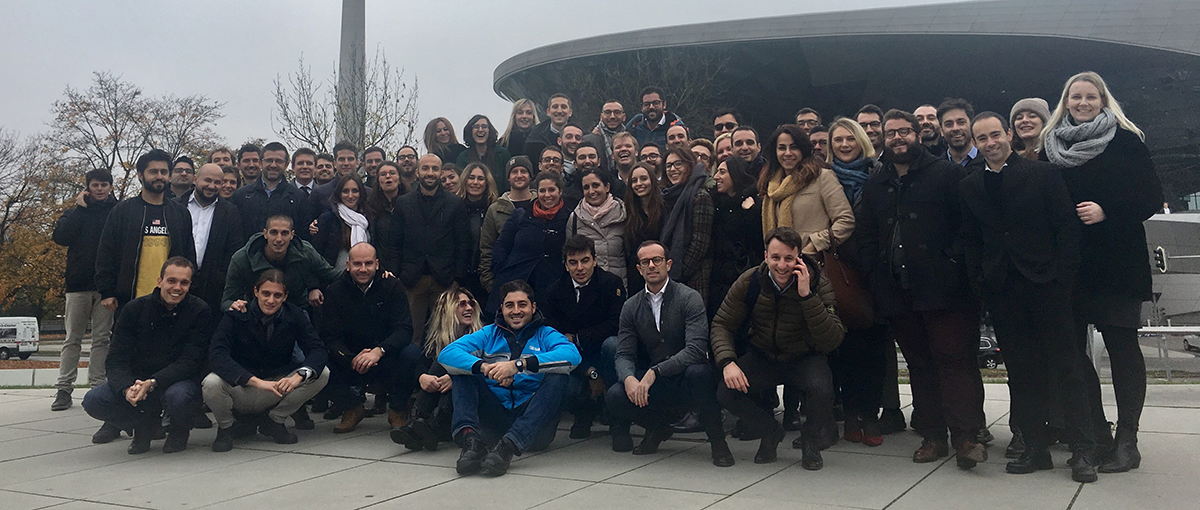 Part Time MBA students during the International Week in Munich